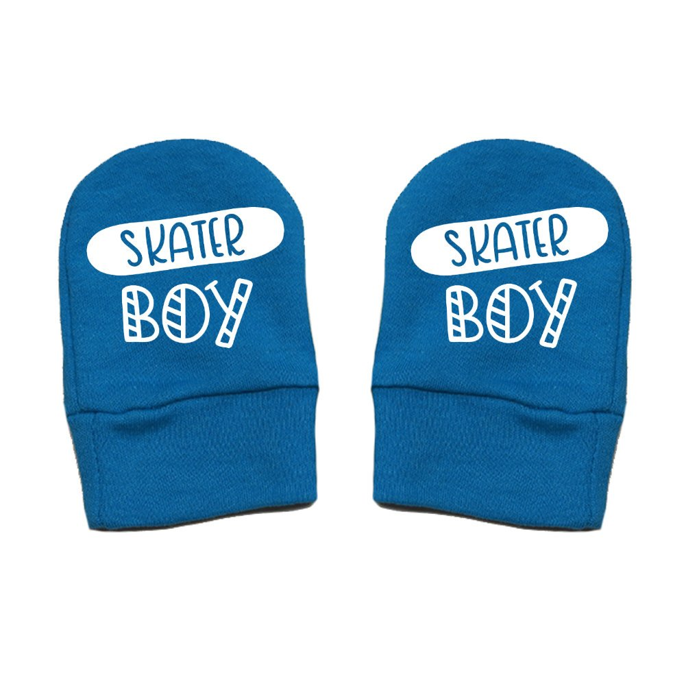 Thick Premium Skater Boy Fun /& Trendy Thick /& Soft Baby Mittens Mashed Clothing Unisex-Baby