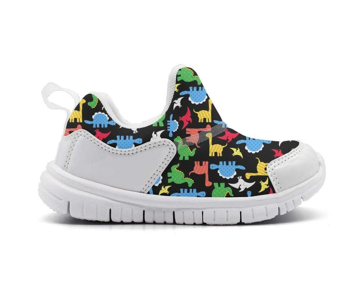 ONEYUAN Children The Dinosaurs Art Rainbow Kid Casual Lightweight Sport Shoes Sneakers Walking Athletic Shoes