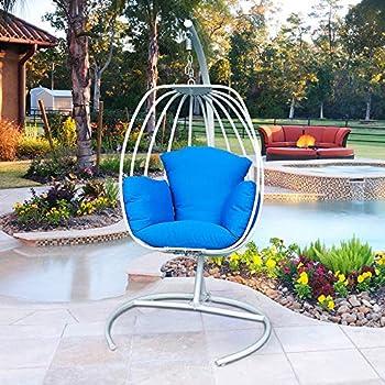 Amazon Com Flowerhouse College Football Hanging Egg Chair