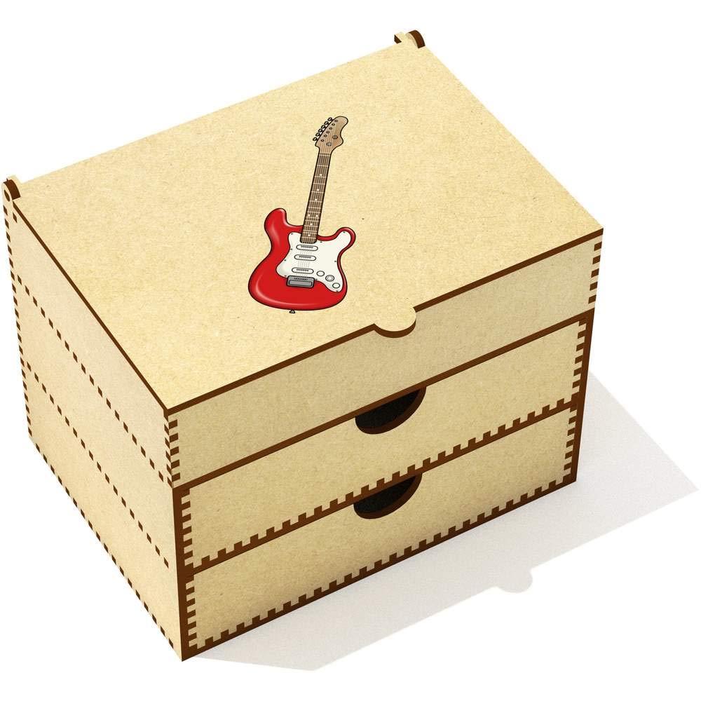 Azeeda Guitarra Eléctrica Caja de Maquillaje (VC00019525): Amazon.es: Juguetes y juegos