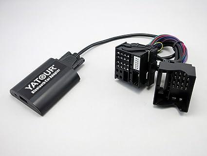 Amazon com: BMW Flat Bluetooth CD Changer AUX Adapter