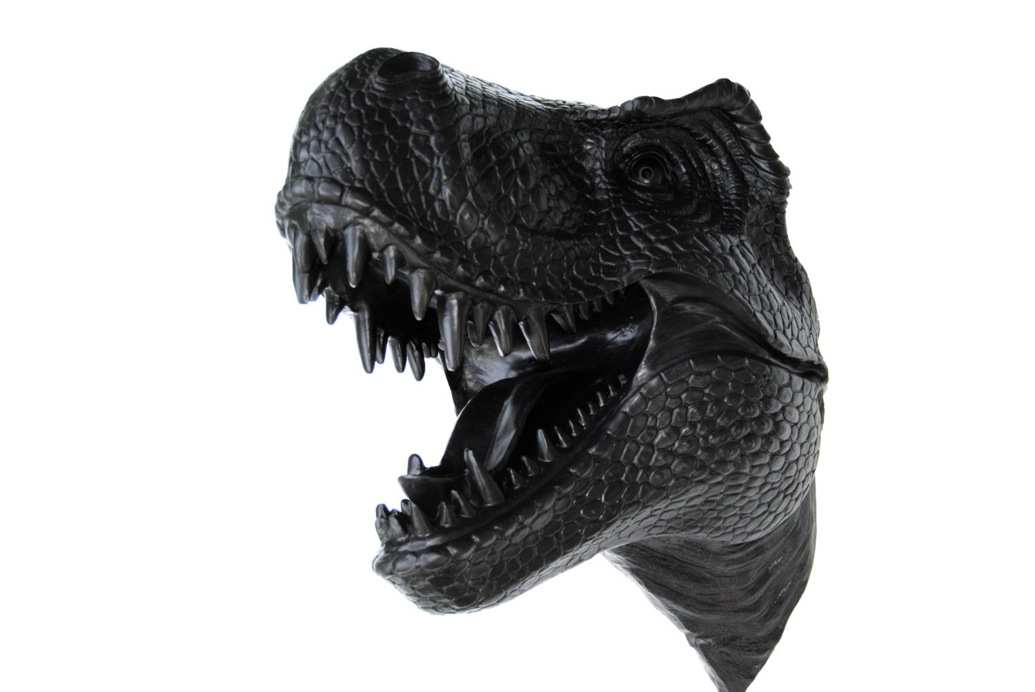 Near and Deer Faux Taxidermy T-Rex Wall Mount, Black