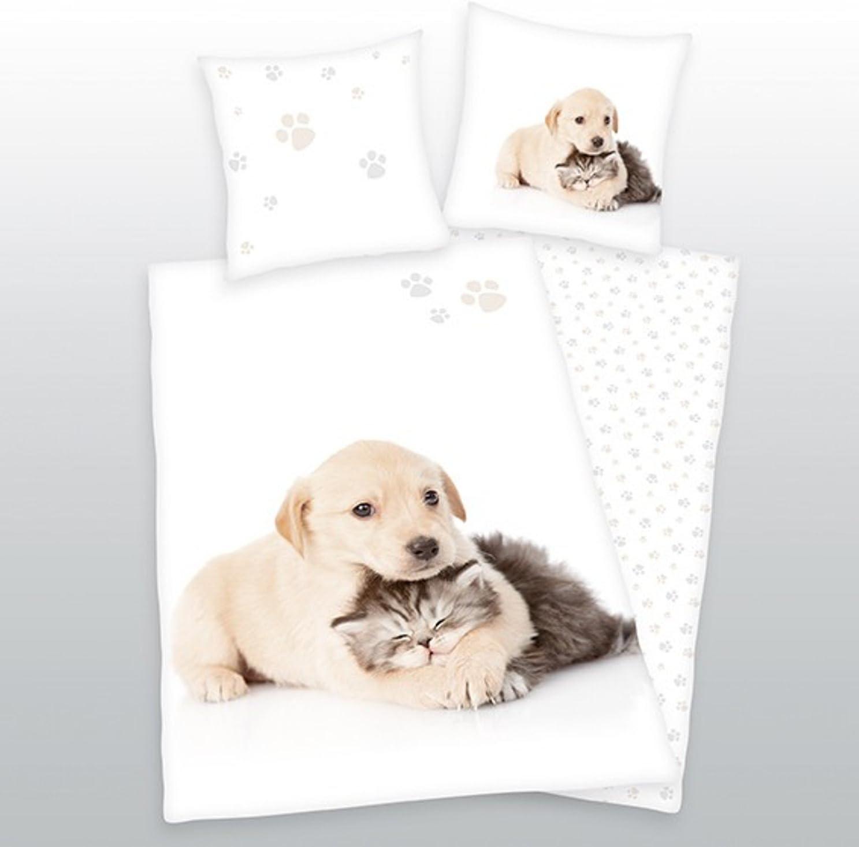 Herding cama de perro y gato 135 x 200 cm 100% algodón: Amazon.es ...