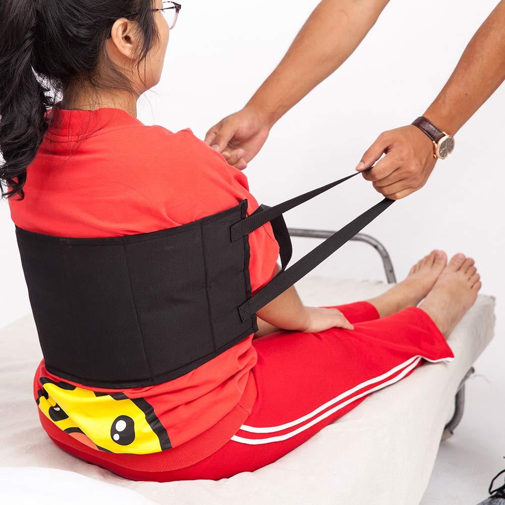 QEES Trasling- Arnés de cinturón de gait con asas acolchadas, cinturón médico para silla de ruedas, cama ZYD01: Amazon.es: Salud y cuidado personal