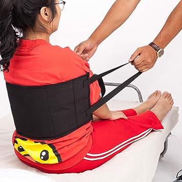 Padded Bed Transfer Nursing Sling, Patient Lift Sling Transfer Belt, Safety Secure Transfer Sling