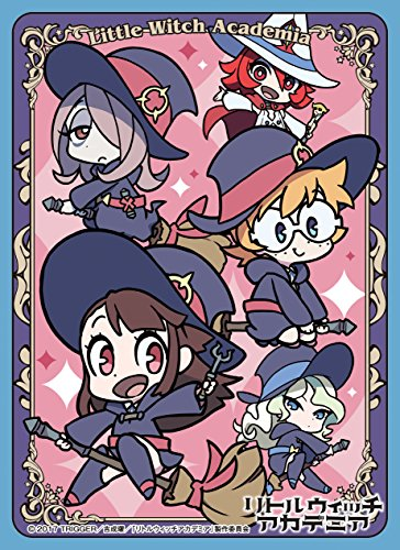 Little Witch Academia Luna Nova Magical Academy A Anime Trading Character Card Game Sleeves Collection EN-446