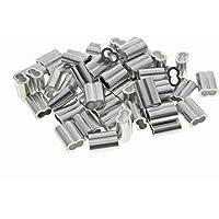 Kitchen-dream aluminium krimplus voor 4 mm draadkabel en kabel