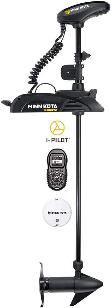 Amazon Com Minn Kota Terrova Freshwater Bow Mount Trolling Motor With 54 Inch Shaft And I Pilot Gps 12 Volt 55 Pound Sports Outdoors