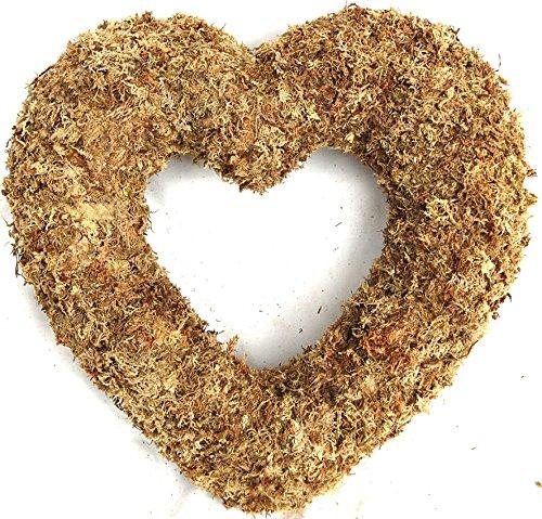 Sphagnum Living Wreath Natural organic Original product image