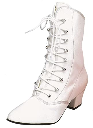 hot sale online 8db48 972b2 Kochmann Damen Karnevalstiefel Cancan Tanzstiefel Leder ...