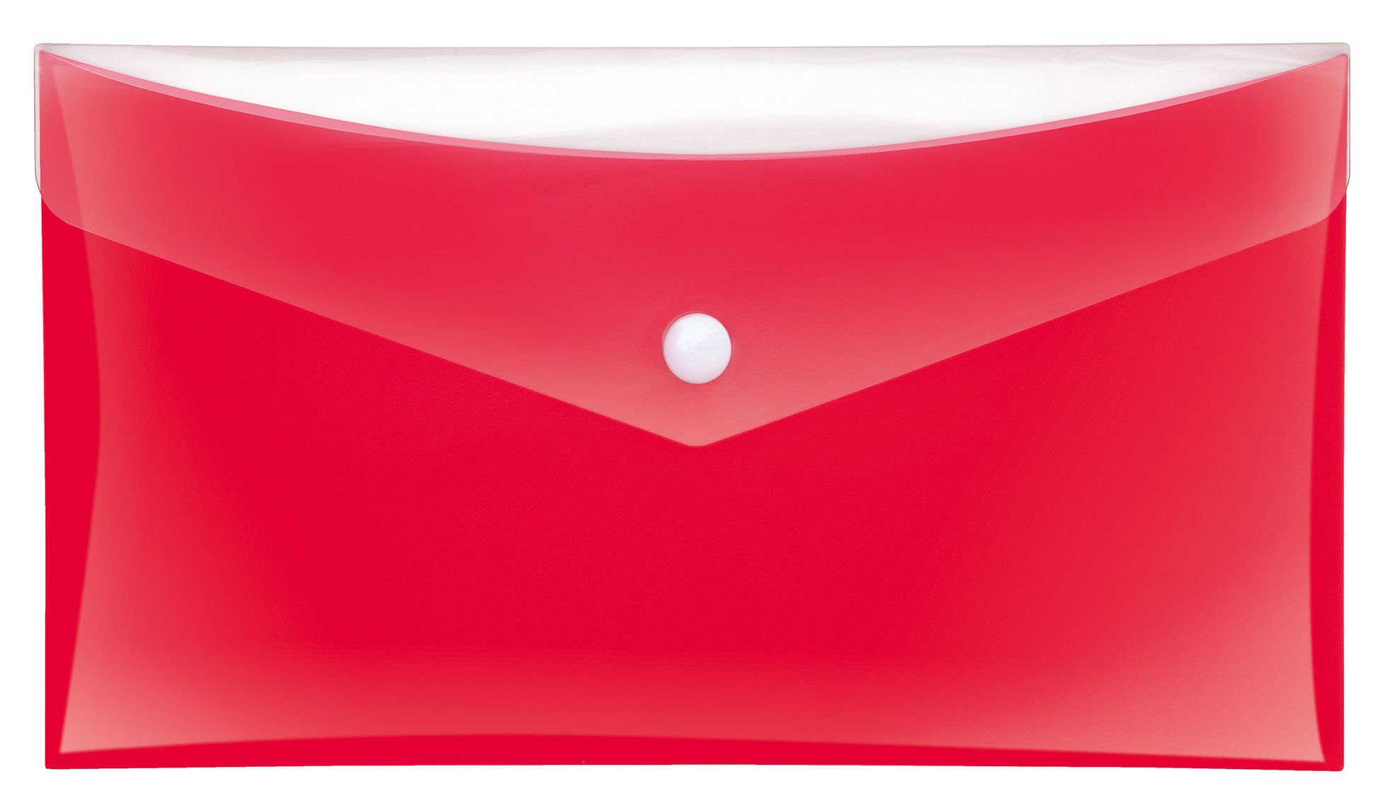 Veloflex 4571120 Project File Document Wallet DL Polypropylene Film – Red