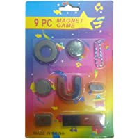 Perfect Magnet Kids Magnet Set and Magnetic Compass (Multicolour)