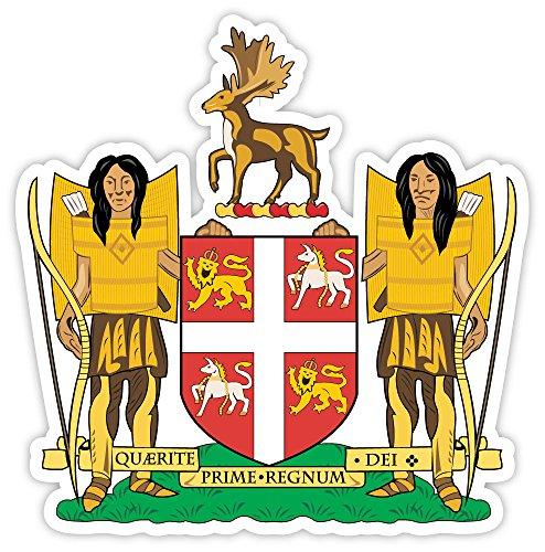 - Newfoundland and Labrador coat of arms Canada sticker decal 4
