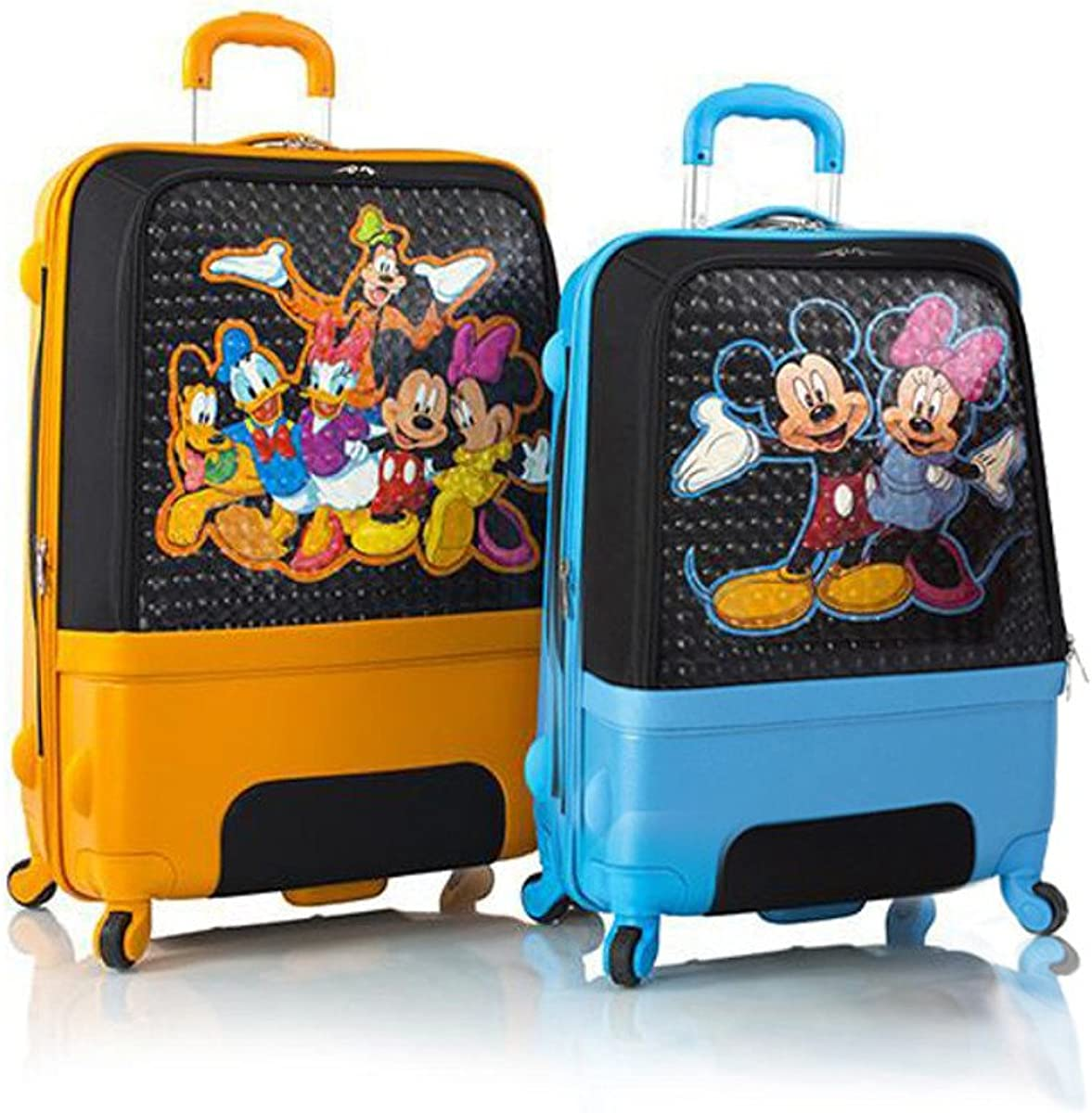 Heys Disney Clubhouse Hybrid Spinner Luggage Set for Kids 2 Pcs – 30 , 26