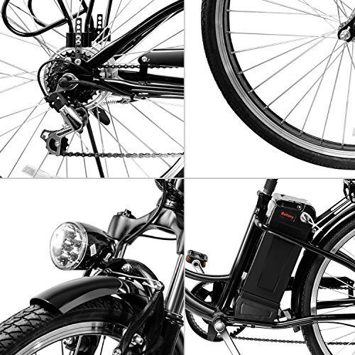 Veeko 26 Quot City Electric Bicycle Ebike With 36v 10ah