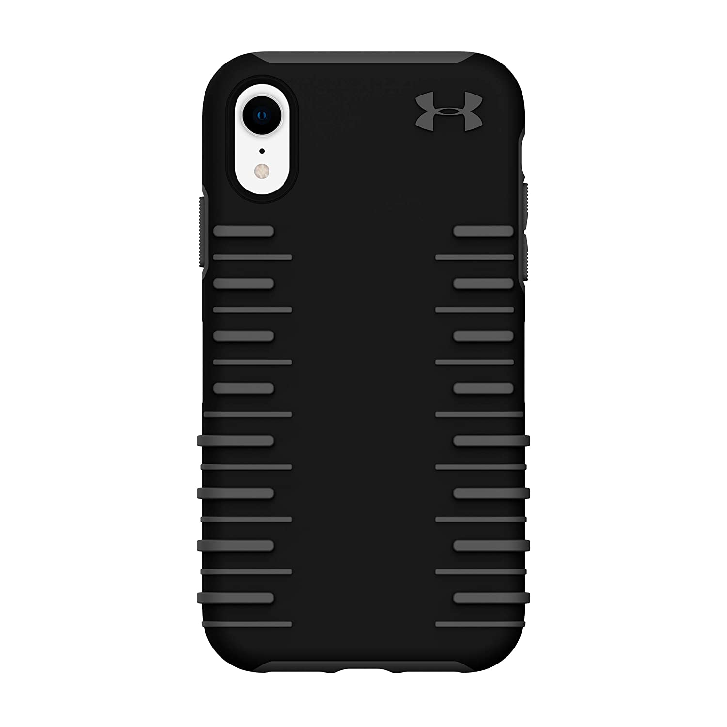 best service c430e 47d60 Under Armour Phone Case   For Apple iPhone XR   Under Armour UA Protect  Grip 2.0 Case with Rugged Design and Drop Protection - Black / Graphite