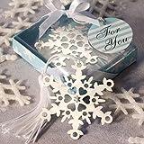 Snowflake Bookmark Favors, 144