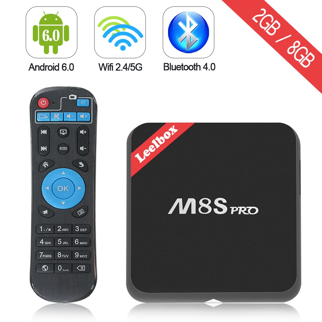 M8S Pro 2017 Android TV Box