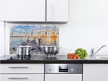 Grazdesign Fliesenspiegel Kuche Natur Spritzschutz Kuche Herd