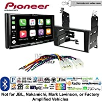 Volunteer Audio Pioneer AVH-W4400NEX Double Din Radio Install Kit with Wireless Apple CarPlay, Android Auto, Bluetooth Fits 1998-2005 Lexus GS Series