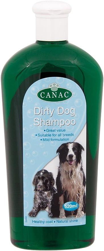 Canac Dirty Dog Champú 520 ml (Pack de 6): Amazon.es: Productos ...