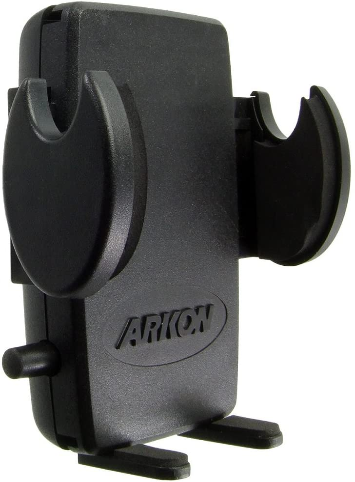"SM488L22 Arkon Mega Grip Seat Rail or Floor Phone Car Holder Mount with 22/"" Arm"