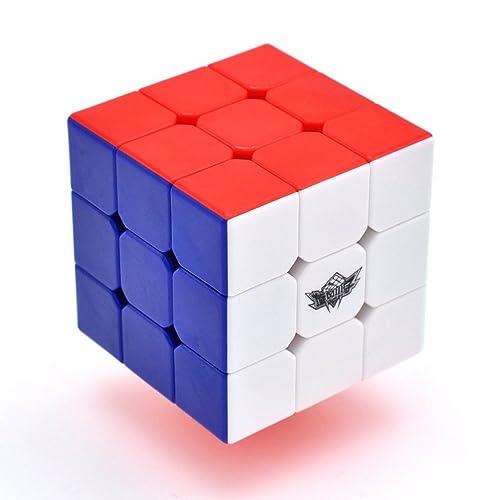 HAKATA Cyclone Boys Speed Cube Stickerless Enhanced Version Smooth Magic Cube Puzzles(X-3X3X3)