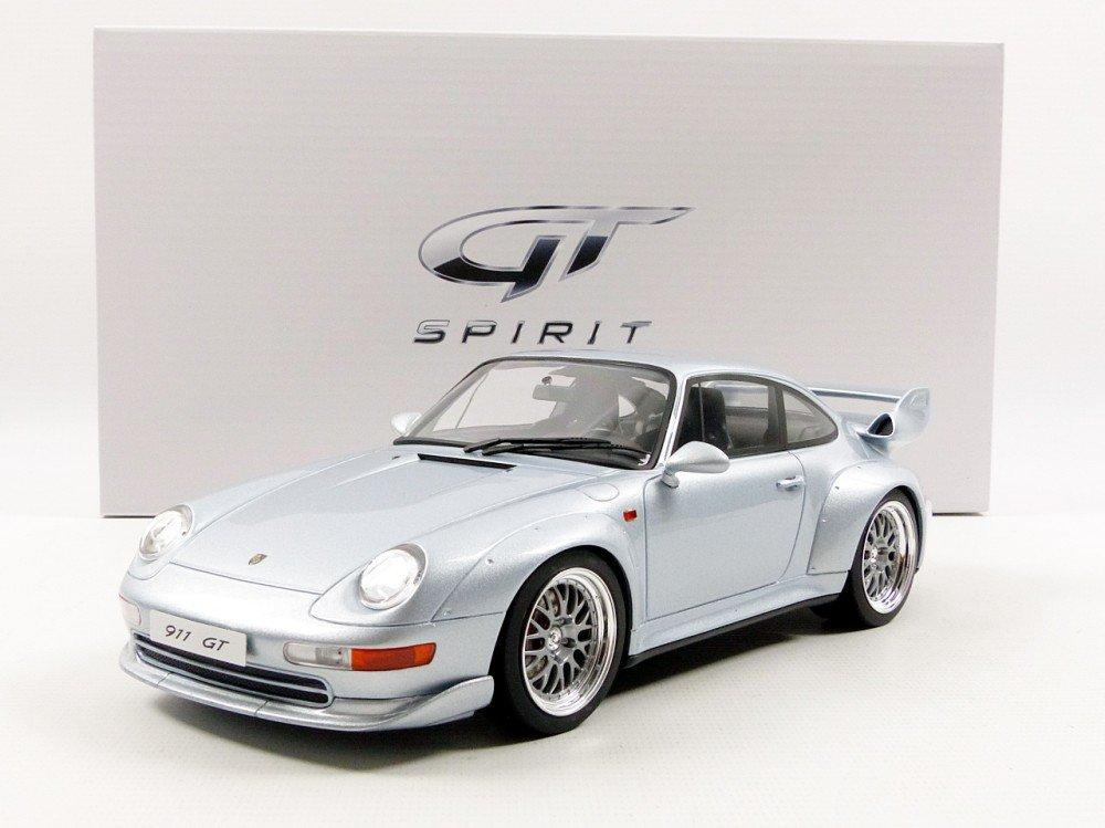 GT Spirit zm098-Porsche 911/993GT-1: 18Scale-Silver