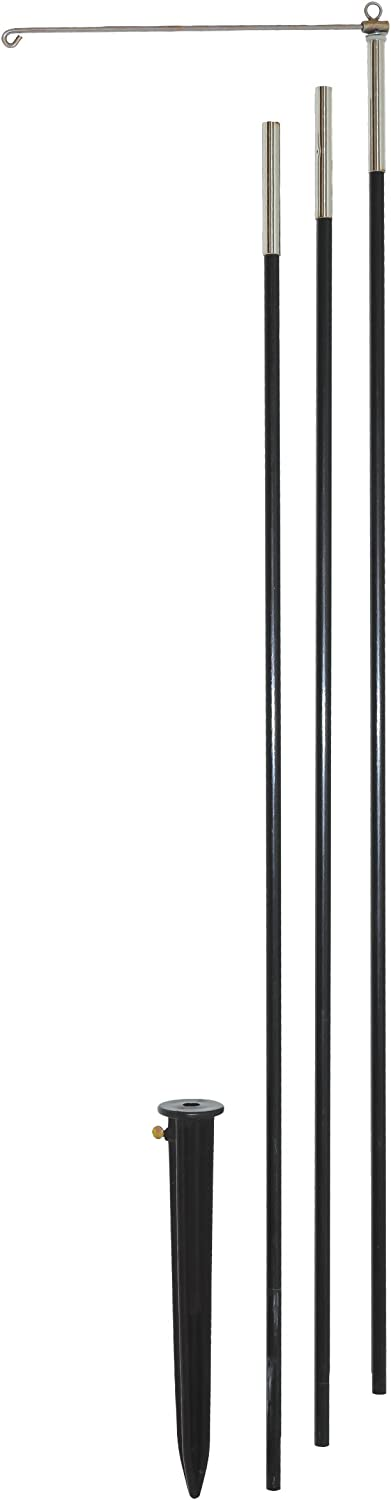 In the Breeze 4878 3-Section HD 10' Pole, Black