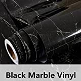 HOHO Granite Marble Paper Back Vinyl Wall Sytickers Film Effect Self Adhesive Contact Paper Vinyl(122cmx30cm)