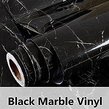HOHO Granite Marble Paper Back Vinyl Wall Sytickers Film Effect Self Adhesive Contact Paper Vinyl(122cmx30cm)