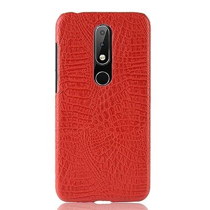 new product 041c7 83ae3 Amazon.com: Torubia For Nokia 6.1 Plus Premium Shockproof Case ...