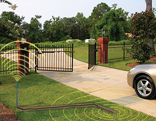 Wireless driveway vehicle sensor fm130 sw for mighty for Motorized driveway gate price