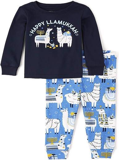 Children\u2019s Christmas Llamas Pajamas