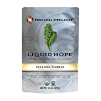 Functional Formularies Liquid Hope Organic Tube Feeding Formula and Nutritional Meal Replacement Supplement, Single