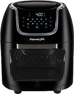 PowerXL 10 QT Vortex Air Fryer Pro Oven, Digital Black