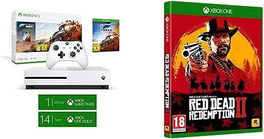 Microsoft Xbox One S - Consola 1 TB + Forza Horizon 4 + Red Dead ...