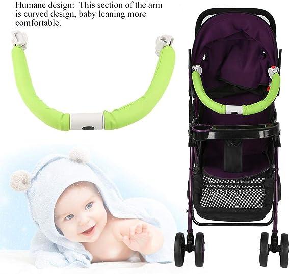 Green Manija del cochecito gen/érico carrito de beb/é ajustable Agarre de parachoques Manija Bar Cochecito Reposabrazos Paraguas de cochecito de beb/é Accesorios Herramientas de mano