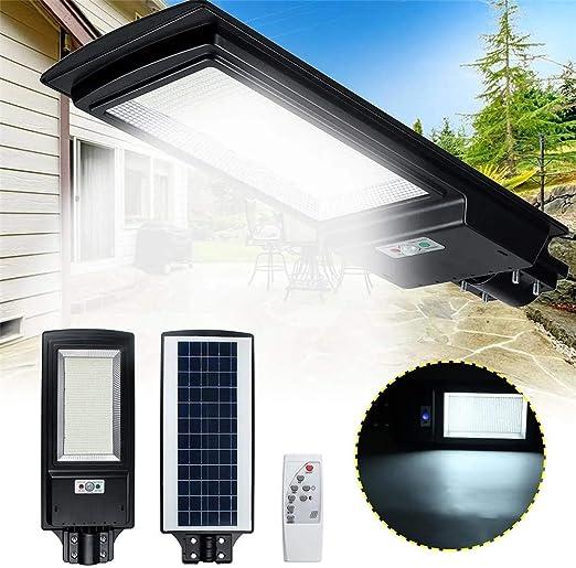 VHGYU LED Farola Wall Sensor de Calle del LED Luz Solar del jardín de la lámpara