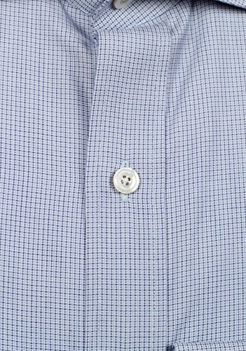 CL - TOM FORD Checked White Blue Shirt Size 39 / 15,5 U.S.