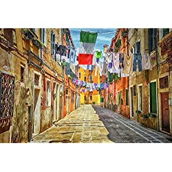 Laundry Room Wall Art, Laundry Picture Decor Italy Wall Art Venice Wall Décor Venice Italy Travel Picture, Fine Art Photograph