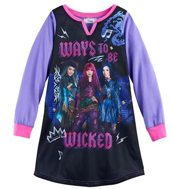 Image Unavailable. Image not available for. Color  Disney Descendants 2 Girls  Nightgown ... 7882c4e26