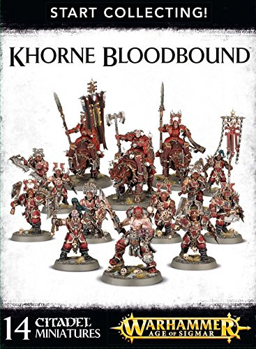 Games Workshop 99120201061'' Khorne Blood Bound Start Collecting Action Figure by Games Workshop (Image #1)