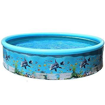 Limpiar fondo piscina hinchable