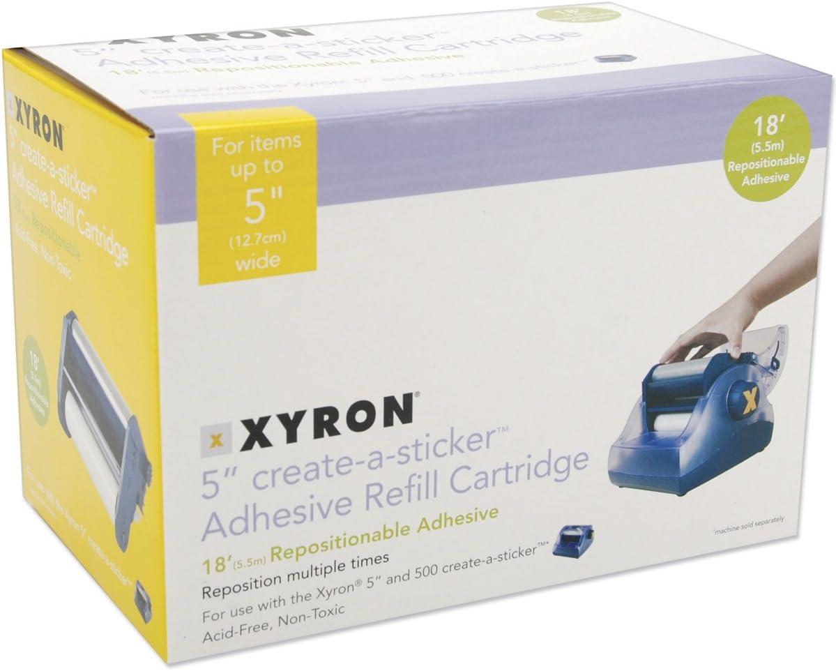 Xyron 500 Refill Cartridge-5 X18 Repositionable