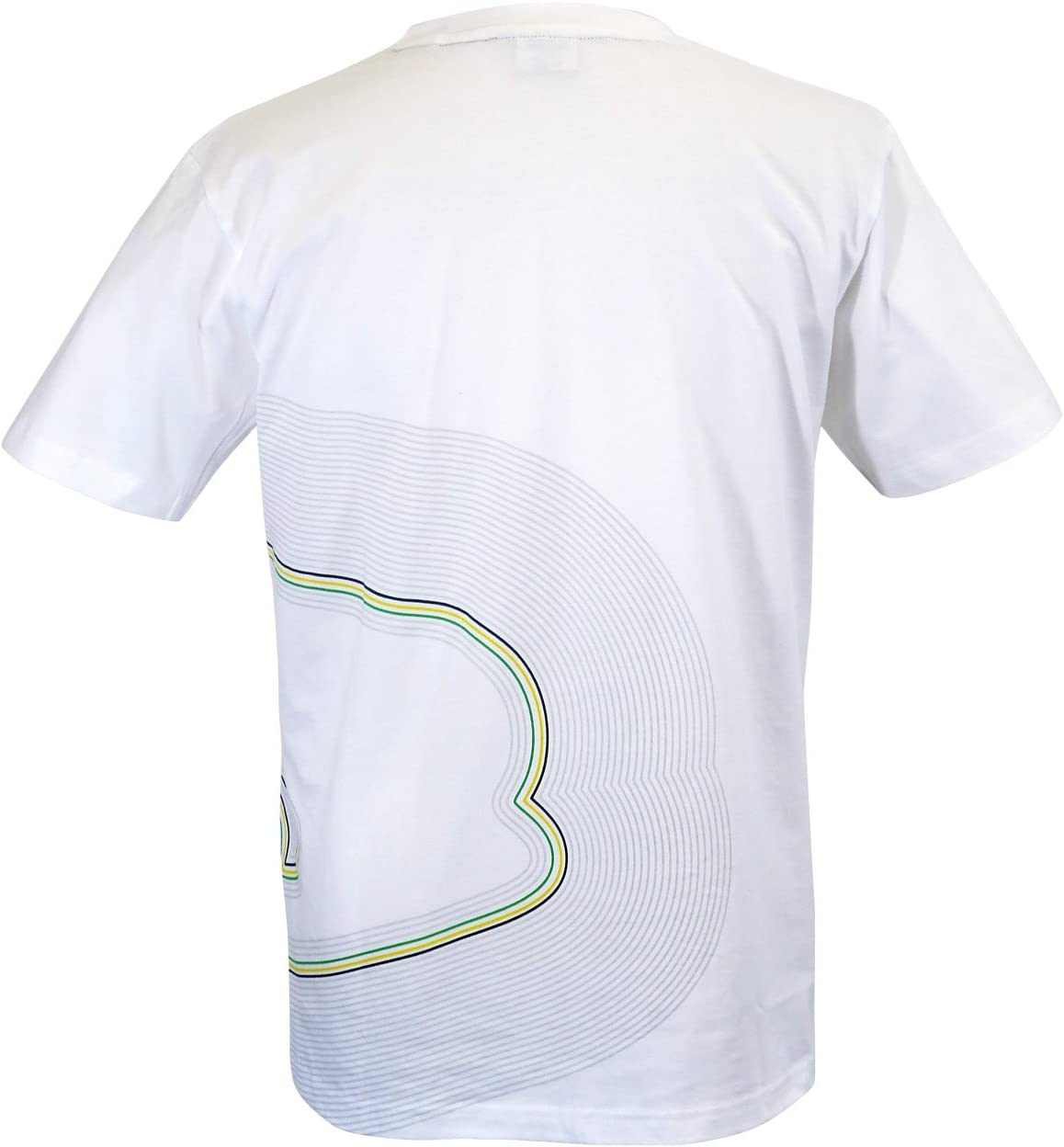 MBA-SPORT Ayrton Senna T-Shirt Track Lines
