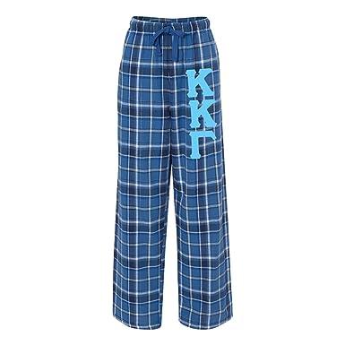 66cffabdba7 Amazon.com  Kappa Kappa Gamma Pajamas Flannel Plaid Pant  Clothing