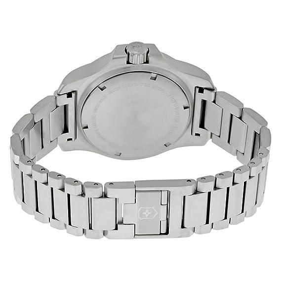 Quarz Swiss Mit Army Victorinox Uhr Armband Edelstahl Analog Unisex UMGjqpSVLz