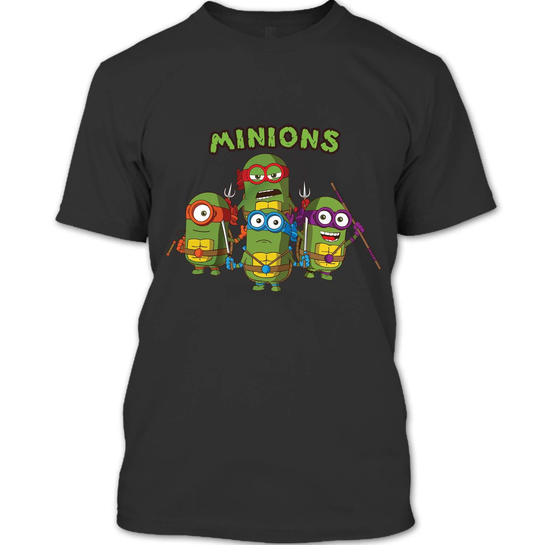 Amazon.com: Minion Banana Song T Shirt, Teenage Mutant Ninja ...
