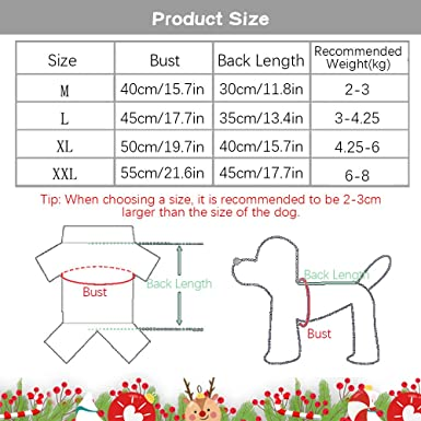 Xmas Pet Christmas Elk Dress Up Outfit Small Pets Apparel Christmas Party Dress Up for Puppy Kitten Small Dog Cat ZQEU Christmas Dog Costume